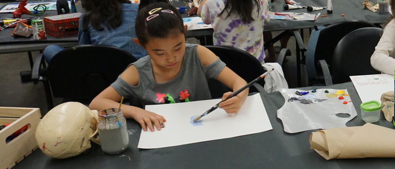 VIRTUAL SPRING CAMPS: Painting Class (Ages 6-9)