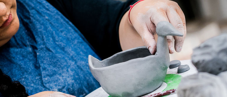 VIRTUAL SPRING CAMPS: Sculpture Class (Ages 10-13)