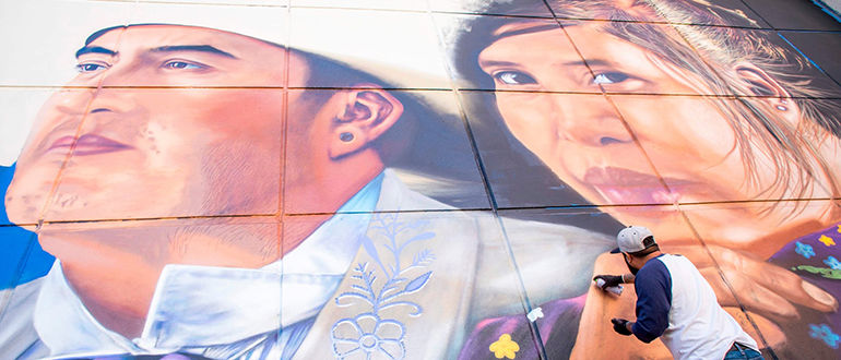 El Paso Museum of Art Wall