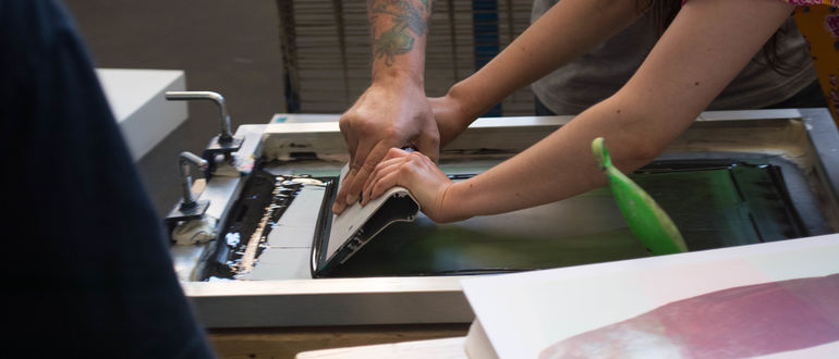 Father's Day Workshop: Printmaking