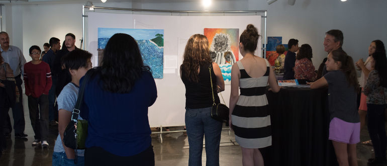 Art School Student Exhibition Reception
