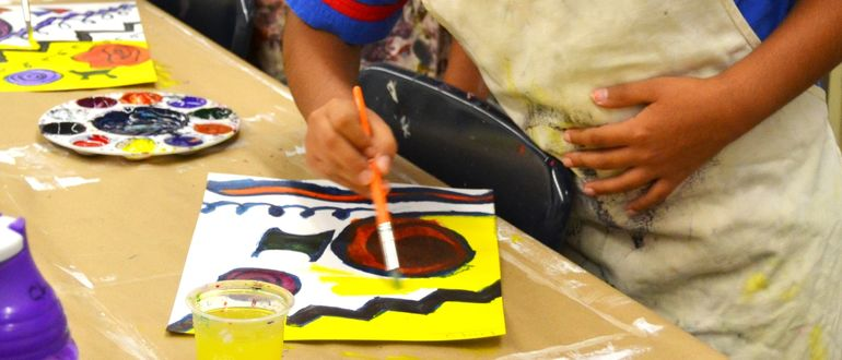 Family Art Workshops: Paint & Collage!