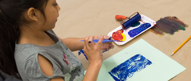 Family Art Workshops: Printmaking!