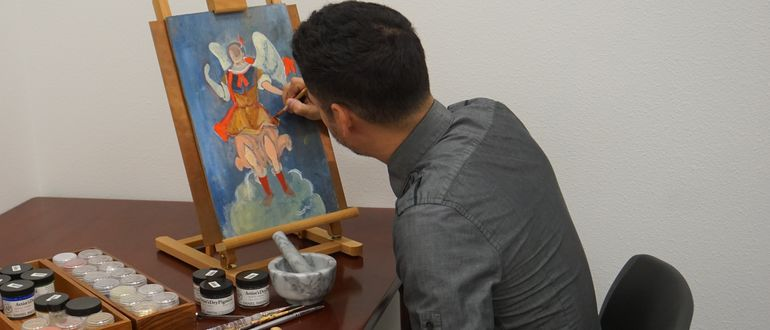 Retablos: Mexican Folk Art Painting