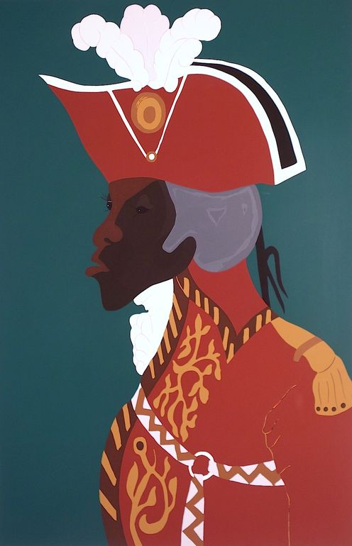 "Jacob Lawrence's ""Toussaint L'Ouverture"" Series: The Haitian Revolution"