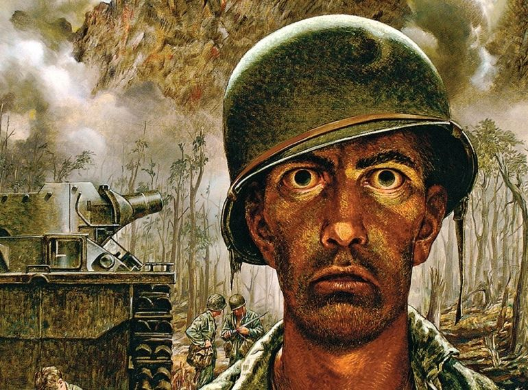 Tom Lea's War, Battlefield paintings by El Paso artist express the tragedy and pathos of World War II