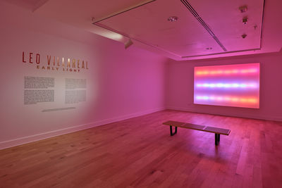 **Installation view**, ***Leo Villareal: Early Light***, El Paso Museum of Art, September 27, 2019 - April 16, 2020. Photograph by Alex Marks.