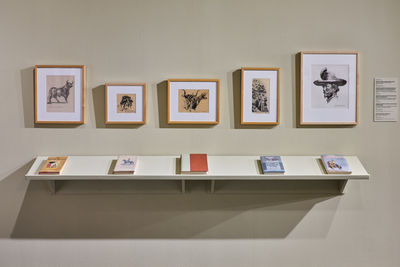 Installation view, Tom Lea and World War II, El Paso Museum of Art, August 23, 2019 - January 5, 2020. Photograph by Alex Marks.