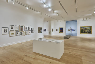 **Installation view**, ***Refresh***, El Paso Museum of Art, September 27, 2019 - September 27, 2020. Photograph by Alex Marks.