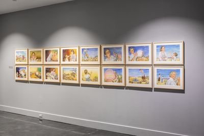 **Installation view**, ***Antonio Castro: Visions of a Borderland***, El Paso Museum of Art, April 19 - August 7, 2019. Photograph by Alex Marks.